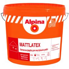 Краска Alpina EXPERT Mattlatex 10л