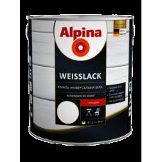 Alpina Weisslack біла глянцева 2,5л